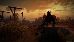 Took a toll... (gamescreenshots) Tags: sunset gaming game horse death tree yellow