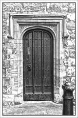 Doorway, St John's Gate, St John's Lane, Clerkenwell, Farringdon, London, England UK (Stuart Smith_) Tags: 26 7dmkii aperture archway bw blackwhite blackandwhite britain british canoneos7dmkii clerkenwell colorless colourless doors doorways egress england english entrance entries entry exit explore farringdon fenestration flickr flickrgeotaggers gate gateway gbr geo:lat=5152213889 geo:lon=010273611 geotagged gps greatbritain greyscale historical httpstudiaphotos ingress london mapped monochrome opening openings portal porthole sepia stjohnsgate stuartsmith stuartsmithstudiaphotos studiaphotos uk unitedkingdom whiteblack whiteandblack windows wwwstudiaphotos