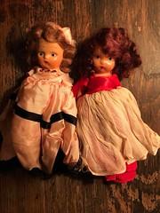 Antique Story Book Dolls (Web Artist Designs) Tags: small antique vintage story book dolls