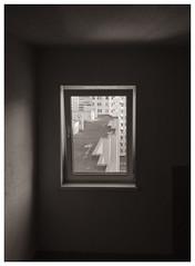 f r a m e d (Listenwave Photography) Tags: urban art window sepia mood pov framed fineart monotone frame iphone listenwave light
