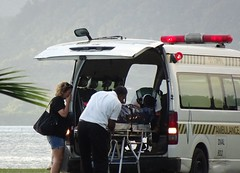 Sadness (mikecogh) Tags: suva fiji medivac ambulance body dead sad farewell separation bodybag grief