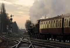 GCR 99689cr (kgvuk) Tags: gcr greatcentralrailway railways trains steam locomotive steamlocomotive steamengine steamtrain 73156 brstd5mt 460 swithlandsidings