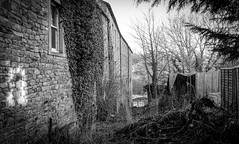 Barnard Castle . (wayman2011) Tags: colinhart fujifilm23mmf2 fujifilmxpro2 lightroom5 wayman2011 bw rural oldbuildings oldbarns dales teesdale barnardcastle countydurham uk