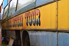 Add Watermark20200123124213 (richellis1978) Tags: bus coach restoration packed yard bedford val beatles magical mystery tour maghull liverpool gnb518d plaxton c47f cavern city