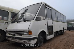 Add Watermark20200123124134 (richellis1978) Tags: bus coach restoration packed yard mcw optare metrorider