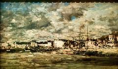 Vue sur Trouville (1875) - Eugéne Boudin (1824-1898)