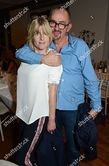 Rachel Johnson_kings-x 1 (Sleevesupcrazy) Tags: kings x by david bailey exhibition launch at heni london uk 26 sep 2017 rachel johnson with paul weiland author journalist sister boris writer female male withothers personality 63896620