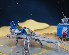 LL928 Enhanced Edition- Landed (captainmorgansdad) Tags: lego neoclassicspace space classicspace afol