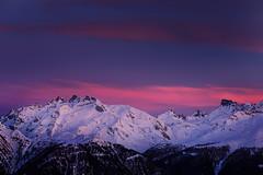 "Pink Sunset (>M.Vogel<) Tags: aletscharena bettmeralp berge mountains evening sunset wallis valais ""swissmountain"" suisse schweiz switzerland"