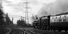 GCR 99727crbw (kgvuk) Tags: gcr greatcentralrailway railways trains steam locomotive steamlocomotive steamengine steamtrain 73156 brstd5mt 460 swithlandsidings