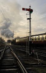 GCR 99707 (kgvuk) Tags: gcr greatcentralrailway railways trains steam locomotive steamlocomotive steamengine steamtrain 73156 brstd5mt 460 swithlandsidings