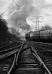 GCR 99706bwcr (kgvuk) Tags: gcr greatcentralrailway railways trains steam locomotive steamlocomotive steamengine steamtrain 73156 brstd5mt 460 swithlandsidings
