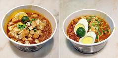Mee Siam and Mee Rebus (Nikita Hengbok) Tags: food cuisine meal localdishofsingapore localtraditionaldishofsingapore localcuisineofsingapore hawkerfoodofsingapore