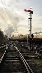 GCR 99696cr (kgvuk) Tags: gcr greatcentralrailway railways trains steam locomotive steamlocomotive steamengine steamtrain 73156 brstd5mt 460 swithlandsidings