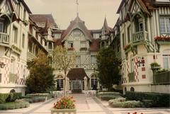 dauville-one (Regine G.) Tags: hotel normandy dauville summerresort france holidays memories buildings