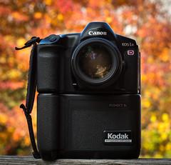 Kodak Canon EOS-1 N  DCS 5c (1997) (maoby) Tags: rouge kodak eos1n dcs kodakdcs collection camera vintage old kodakcanoneos1ndcs5c