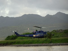 Preparing for Lift-Off (mikecogh) Tags: suva fiji helicopter medivac mountains park