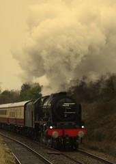 Rishton (Jacobite52) Tags: 46100 royalscot lms railway train steam mainlinesteam