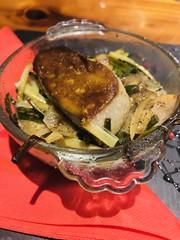 Foie gras des Landes rôti en cocotte at Ti Kaz La