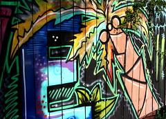 Orlando Public Art Fence Art # 2 (Jay Costello) Tags: orlando florida orlandoflorida fl streetart publicart art colorful mills50