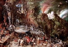 IMG_6819 Jan Brueghel I  1566-1625 Anvers Allégorie du feu  Allegory of Fire 1608 Milan Pinacoteca Ambrosiana (jean louis mazieres) Tags: peintres peintures painting musée museum museo italia milano pinacotecaambrosiana