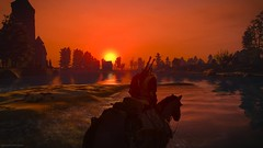 In the name.. (gamescreenshots) Tags: nature sunset game gaming horse water