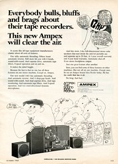 Ampex 1461 reel to reel 1968 (Nesster) Tags: hifistereoreview october 1968 vintage hifi stereo magazine print ad advert advertisement
