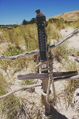 Time to go (Seaside-Mike) Tags: beach beachside path signpost collection flotsam jetsam carrickalinga southaustralia