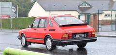 1983 Saab 900i 2.0 (>Tiarnán 21<) Tags: 600vim 600 vim saab 900 gle red ireland uk car road