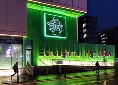 Boroughmuir High School sign at night (Tony Worrall) Tags: north update place location uk england visit area attraction open stream tour country item greatbritain britain english british gb capture buy stock sell sale outside outdoors caught photo shoot shot picture captured ilobsterit instragram edinburgh scotland scots green night people college study lit illuminated architecture building street sign led lights urban evening boroughmuir highschool sony