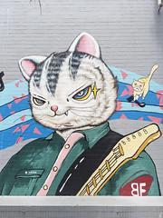 Tarcat (marco_albcs) Tags: china beishan zhuhai jazz grafitti streetart cat guitarplayer tarcat