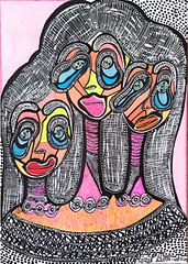 Mascaras de mujeres arte israeli Mirit Ben-Nun (female artwork) Tags: artistic paint painting paintings painter draw drawing drawings woman women feminism femme acrilyc pencils pen markers marker person hand eyes relationship love magical magnetic heart dream friend fantasy main partner soul mate sunshine misterious beautiful complex cultured creative open energetic mirit ben nun people photoadd