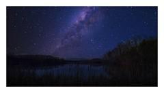 Burke Lake Fake (sorrellbruce) Tags: landscapes photoediting luminar4 night stars artificialintelligence