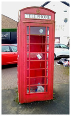 Photo of A Tale of Two Telephone Boxes.