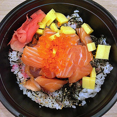 Salmon and Tuna Don (Nikita Hengbok) Tags: food cuisine meal japanesecuisine japanesefood sashimiandsushi salmonandtunadon