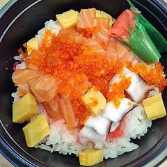 Sashimi Don (Nikita Hengbok) Tags: food cuisine meal japanesecuisine japanesefood sashimiandsushi sashimidon