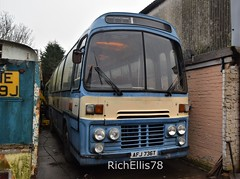 Add Watermark20200123124306 (richellis1978) Tags: bus coach restoration packed yard afj736t gurnseybus gurnsey western national narrow plaxton supreme