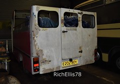 Add Watermark20200123124247 (richellis1978) Tags: bus coach restoration packed yard ford transit mk3 minibus mini opentop open top e202bdv