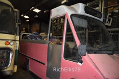 Add Watermark20200123124242 (richellis1978) Tags: bus coach restoration packed yard ford transit mk3 minibus mini opentop open top e202bdv