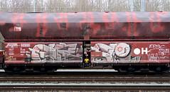 Graffiti on Freights (wojofoto) Tags: amsterdam nederland netherland holland freighttraingraffiti freighttrain freights cargotrain vrachttrein güterzug fr8 graffiti streetart wojofoto wolfgangjosten frei