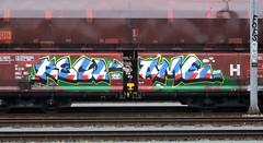 Graffiti on Freights (wojofoto) Tags: amsterdam nederland netherland holland freighttraingraffiti freighttrain freights cargotrain vrachttrein güterzug fr8 graffiti streetart wojofoto wolfgangjosten recl ame