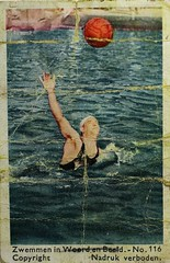 1932 Album - picture (Steenvoorde Leen - 17 ml views) Tags: albumpicture albumplaatje zwemmen zwemmeninwoordenbeeld spjborsten waterpolo 1932