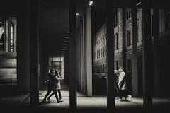 Museumsinsel Berlin (elisachris) Tags: berlin mitte museumsinsel jamessimongalerie street streetphotography schwarzweis blackandwhite sepia architektur architecture sonya7s nacht night