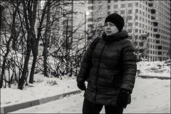 16dra0590 (dmitryzhkov) Tags: urban outdoor life human social public stranger photojournalism candid street dmitryryzhkov moscow russia streetphotography people bw blackandwhite monochrome