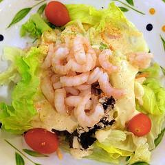 Shrimp Salad (Nikita Hengbok) Tags: food cuisine meal japanesecuisine japanesefood sashimiandsushi