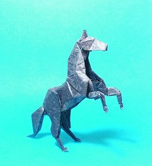 Horse Hideo Komatsu (GGIamBatman) Tags: horse hideo komatsu origami papiroflexia caballo