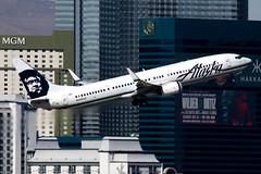 Alaska Airlines | Boeing 737-900ER | N408AS | Las Vegas McCarran (Dennis HKG) Tags: airplane airport aircraft las alaska plane canon lasvegas 7d asa klas mccarran alaskaairlines planespotting 100400 as usa boeing 737 boeing737 737900 737900er boeing737900 boeing737900er n408as