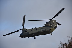 Chinook (Blundell Photography) Tags: raf nikon helicopter telephoto chinook formby sefton hightown royalairforce altcar nikond3400 rafaltcar zk556 supershot