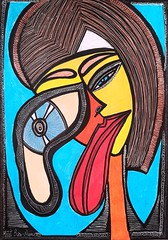 Mascara mujer expresiva arte en Israel Mirit Ben-Nun (female artwork) Tags: artistic paint painting paintings painter draw drawing drawings woman women feminism femme acrilyc pencils pen markers marker person hand eyes relationship love magical magnetic heart dream friend fantasy main partner soul mate sunshine misterious beautiful complex cultured creative open energetic mirit ben nun people photoadd