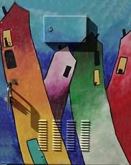 Orlando Public Art Mills 50 Pets in Windows (Jay Costello) Tags: orlando florida orlandoflorida fl streetart publicart art colorful mills50